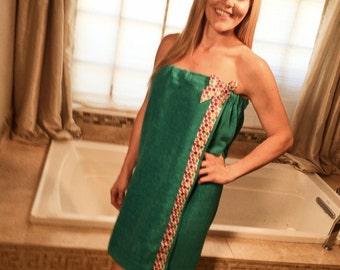 Plus Size Wrap Around Towel- Bath Wraps For Women- Shower Wraps- Monogrammed Towel Wrap- Body Towel Wrap- Spa Towel Wrap- Shower Towel Wrap
