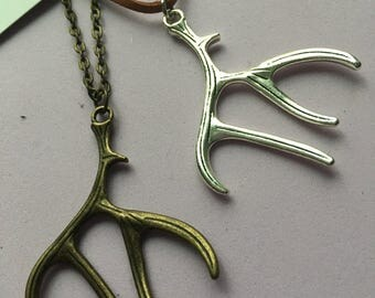 Antler Charm Necklaces
