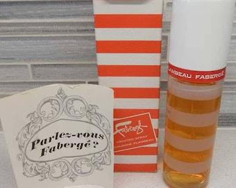 1965 Mod Carnaby Street Faberge Flambeau Spray Cologne 2 oz