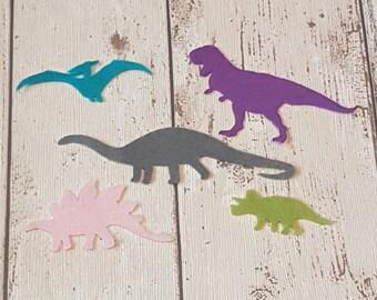 Felt Dinosaurs, die cut for craft supplies and embellishments, jurassic, t rex, stegosaurus, tyrannosaurus, kids rooms, felt board set