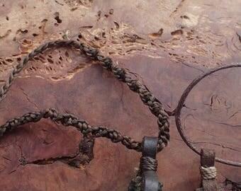 Woven Macrame Cord for Pendants