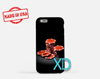 Poker Chips iPhone Case, Chips iPhone Case, Poker Chips iPhone 8 Case, iPhone 6s Case, iPhone 7 Case, Phone Case, iPhone X Case, SE Case