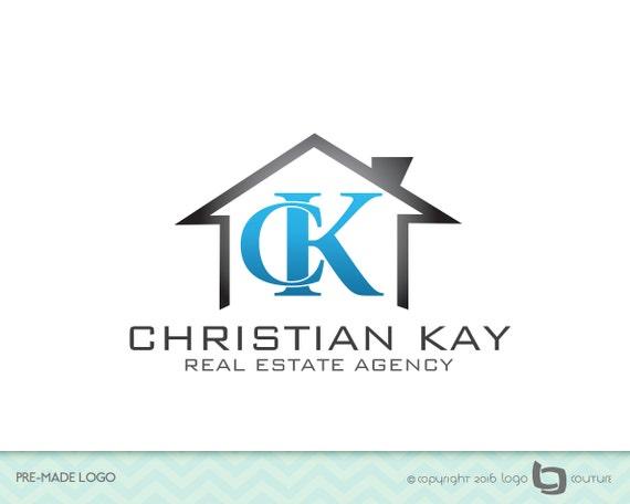 Premade real estate company logo agency