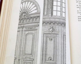 Rare Antique French Carpentry Text Book / Manuel from 1911 with 864 Illustrations 300 Pages, Joinery, Woodworking, Reference, Historical