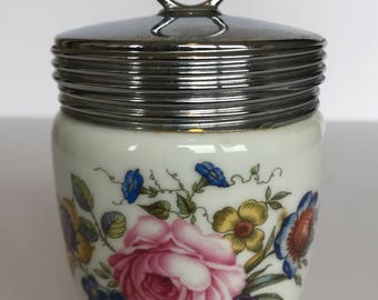 Vintage Royal Worcester Egg Coddler (Bournemouth Pattern)| Egg Warmer