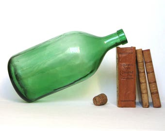 Extra Large Vintage French 5-liter Wine Bottle (1.3 gallons)