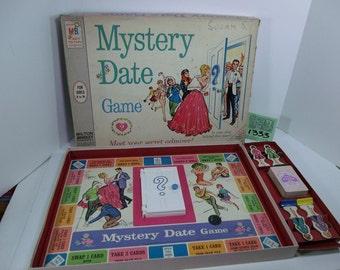 1960's Milton Bradley Mystery Date Boardgame
