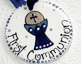Personalized First Communion Ornament DOUBLE-SIDED