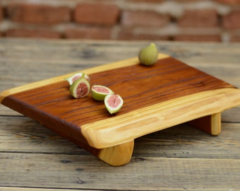 Solid Acacia Cutting Board, Wooden Chopping board, Kitchen Board, Rustic Serving Platter, Personalised Gift, Food Serving, Original Board