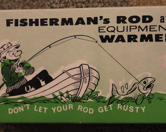 Conversation Piece Fisherman's Rod and Equipment Warmer