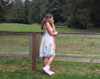 Upcycled Slip Dress Marie Antoinette Inspired Shabby Fairytale Enchanting Sale!!