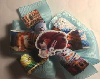 Secret life of pets hair bow *
