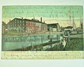 LIBBY PRISON RICHMOND, Va. Vintage Postcard, James River View, 1907, Undivided Back