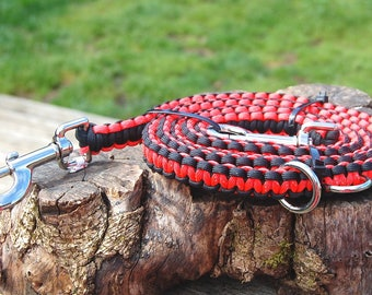 Last Minute Gift! Adjustable 6 Way Paracord Dog Leash, Hands Free Leash, 6 Ft As Pictured Ready to ship! Beavers Leash, OSU Leash