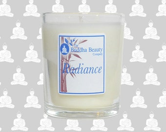 Radiance - Redcurrant Organic Votive Candle 9cl