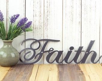 Faith Wall Decor faith sign | etsy