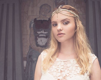 Headband / Hairjewelry / Crown Aphrodite, Collection Divine 2016