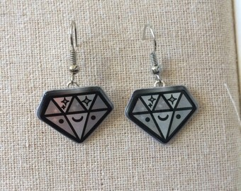 Tokidoki Diamond Earrings