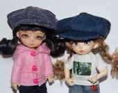 Jeans cap for Pukifee, Lati Y, Irrealdoll, mini Riz Planetdoll hat