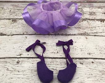 Cloth Doll Tutu and Ballerina Shoes - Fabric Doll - Dress Up Doll - Handmade Doll - Rag Doll - Room Decor - Heirloom Doll