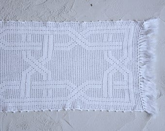 Doily Table Runner - Table Mat Doily, Lace Table Mat, Cotton Doily Crochet, Cotton Lace Doily, Large Doily,Vintage Lace Doilies,Wedding Gift