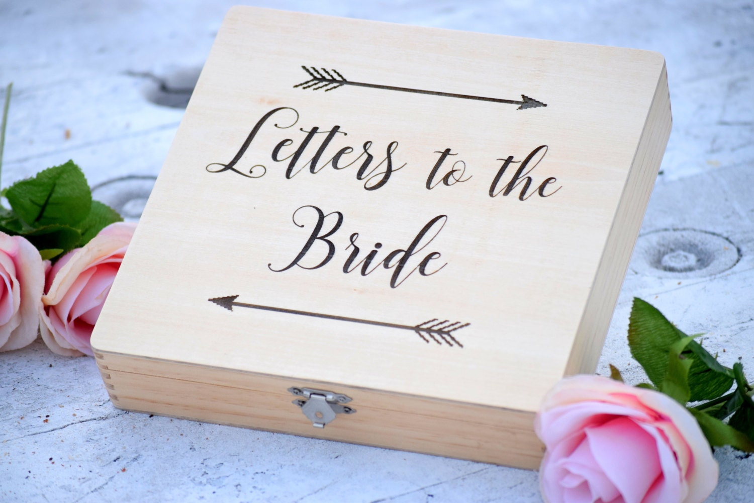 Letters To The Bride Box Bridal Box Gifts For The Bride