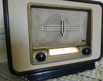 Vintage FRANCE Radio THOMSON-DUCRETET Model L.325 Year 1953
