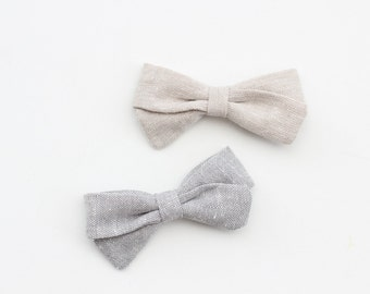 Hair Clips, Hair Bows, Baby Hair Clips, Kids Hair Clips, Fabric Bow Clip, Bow Hair Clip, Hair Clip --- Choose One