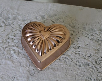 Copper Heart Wall Hanging / Mold