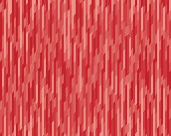 Desert Bloom Stripe in Red by Amanda Herring for Riley Blake Fabrics - Half Yard or By the Yard