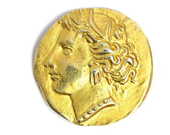 Gold Coin Roman Empire Silver