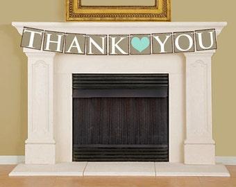 Thank You Banner, DIY Printable Banner Bunting - 16005