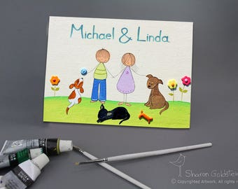 Personalized Wedding Gift Name Signs Wedding Gift for couple shower Gift custom personalized door sign