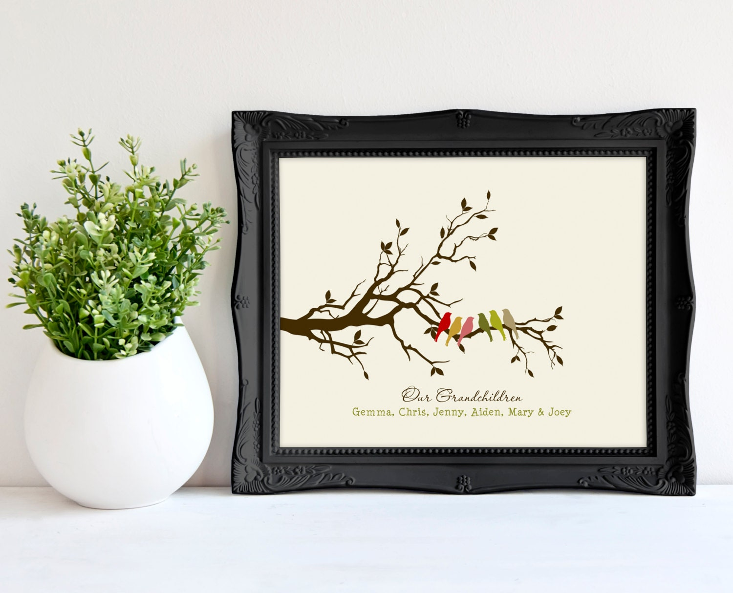 Personalized Grandparents Christmas Gift Gift by ...