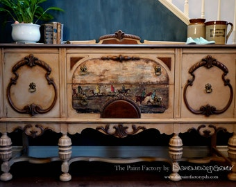 Bespoke Antique Jacobean Buffet - SOLD