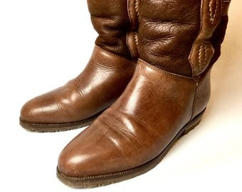 Cool boots Western style