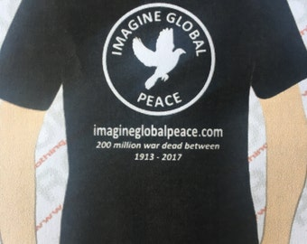 Imagine Global Peace t-shirt