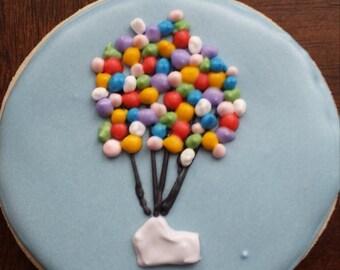 Up inspired sugar cookies