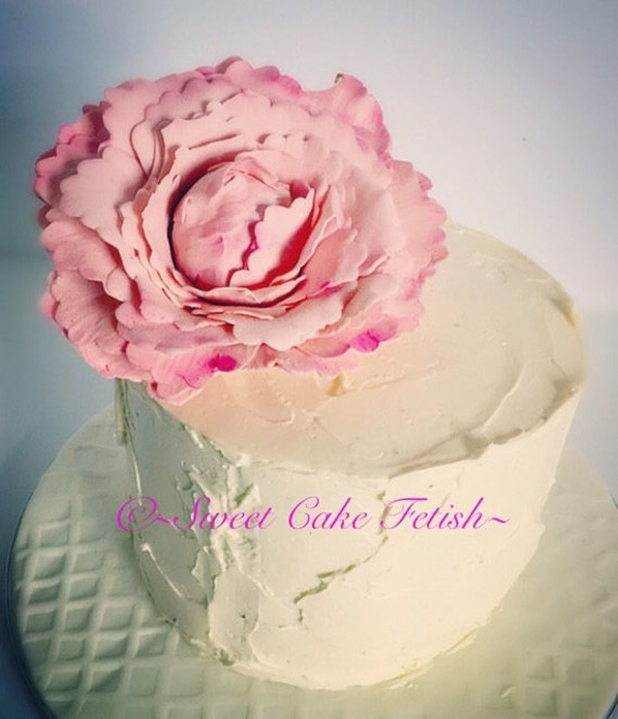how to make peony fondant toppers