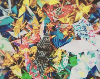1,000 origami cranes for your celebration - custom made to order!
