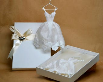 5 Wedding Dress Favors, Wedding Dress Soap Favors, bachelorette favors, pink soap favors, dust rose soap favors, Bridal shower favors
