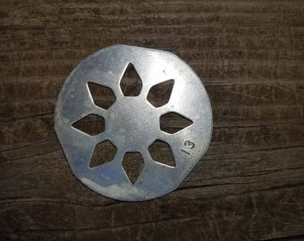 flower mold, cookie disc, flower shape for Mirro Cookie Press, REPLACEMENT part, Christmas cookies, Spritz, Butter, Cookie, Sugar cookies