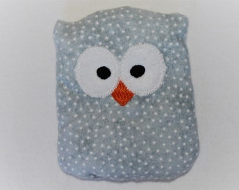 Gray Ouchie Owl ~ Hot or Cold ~ Rice Pack