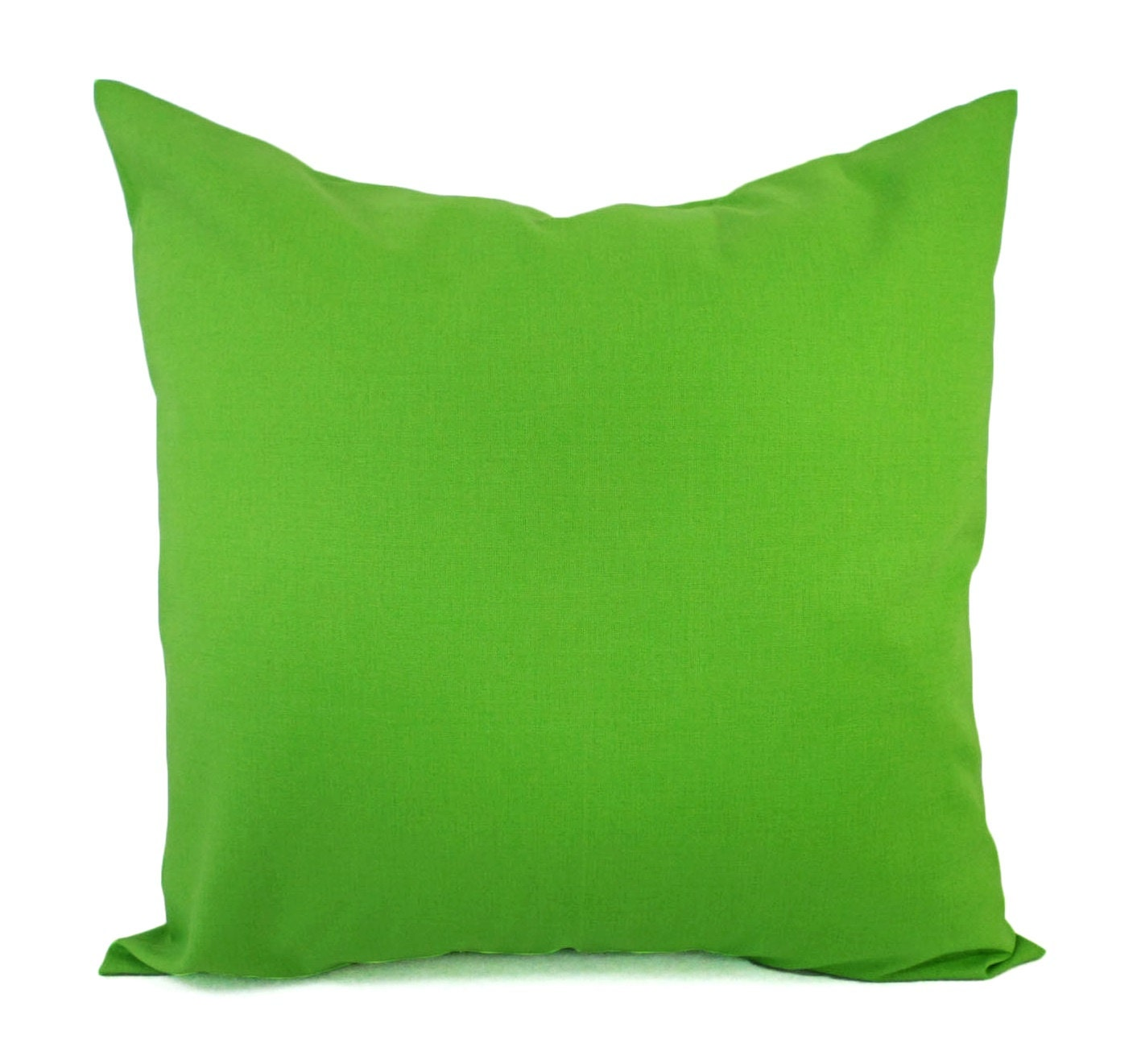 Solid Green Decorative Pillow Cover Green Pillow Cover