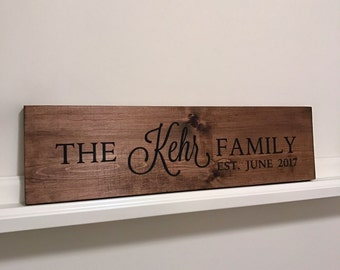 Custom Family Sign, Custom Wooden Sign, Family Sign, Rustic Family Sign, Custom Rustic Sign, Wooden Family Sign, Custom Sign