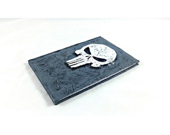Punisher Blank Journal, mixed media notebook