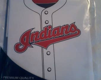 Cleveland Indians stretchable book cover