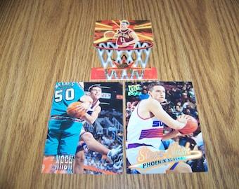 3 Vintage Steve Nash (Phoenix Suns) Rookie Cards