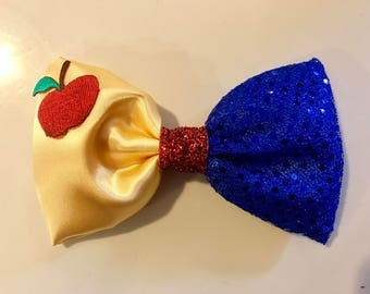 Snow White Princess Bow