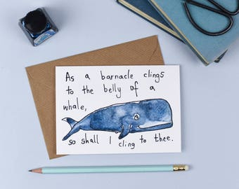 The Whale and the Barnacle Card
